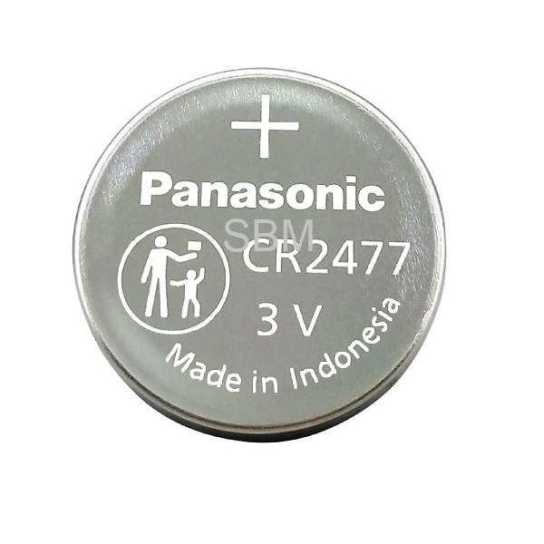 Panasonic CR2477 Lithium Cell Button Industrial Battery (1 Piece)