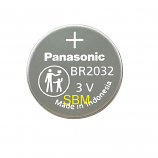 Panasonic BR2032 High Temperature  -30℃ to 80℃ Lithium Cell Button Industrial Battery (1 Piece)
