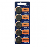 Sony CR2032 Lithium Cell Button Battery (1 Piece)