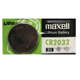 Maxell CR2032 Lithium Cell Button Battery (1 Piece)