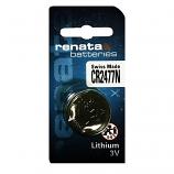 Renata CR2477 Lithium Cell Button Battery (1 Piece)
