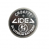 LIDEV CR2477 CR2477T 1100mAh Lithium Cell Button Industrial Battery (1 Piece)