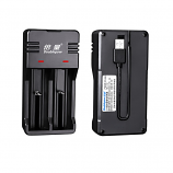 Doublepow DP-UK63 Intelligent Rapid charger for 3.7/4.2V Li-ion 16340 17500 17670 18500 18650 22650 26500 26650 Rechargeable Battery