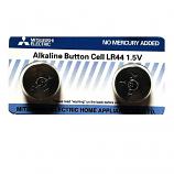 Mitsubishi LR44 AG13 357 Alkaline Button Battery (1 Piece)
